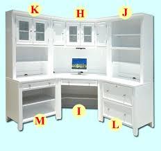White Computer Desk Hutch Desk Hutch White White Corner Desk With Hutch Corner Desk With