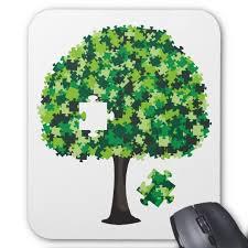 family tree jigsaw puzzle mouse pad zazzle