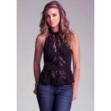 bebe blouses sleeveless lace blouse bebe