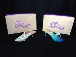 just the right shoe ornaments boxed ebay