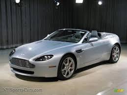 silver aston martin 2008 aston martin v8 vantage roadster in titanium silver d08338