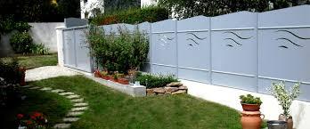 idee de jardin moderne des clôtures de jardin design pour délimiter avec style travaux com