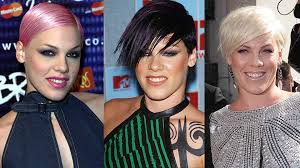 hairstyles through the years gallery p nk s changing hairstyles through the years music