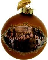 savings ornaments downton castle glass ornament