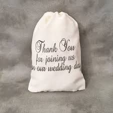 wedding treat bags wedding favor bags wedding thank you for joining us on our