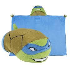 amazon com comfy critters stuffed animal blanket u2013 teenage mutant
