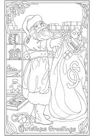 821 christmas coloring pages images