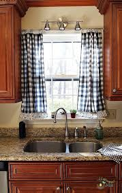 Red And White Curtains For Kitchen by Curtains Kitchen Curtains Cheap Decor 25 Best Ideas About Kitchen