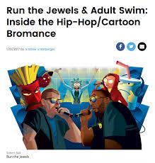 Adult Swim Meme - hip hop cartoon bromance adult swim know your meme