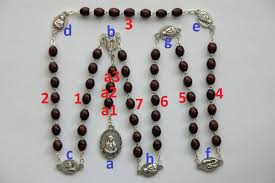 rosary of the seven sorrows chaplet of the seven sorrows of