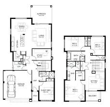 2 story home plans 2 storey townhouse plans simple two story house plan beautiful