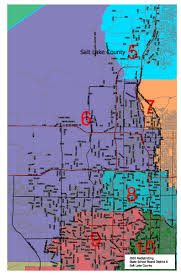 Zip Code Map Salt Lake City by Utah Legislature