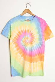 pastel rainbow tie dye shirt ragstock