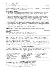 Resume Doc Templates Sample Project Manager Resume Summary Senior Engineering Templates