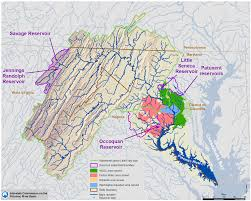 Washington Metro Map by Maps Potomac River Basin Drinking Water Source Protection