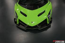 Lamborghini Veneno Green - car waffle on twitter