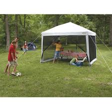 Mainstays Gazebo Replacement Parts by Wenzel 10 U0027 X 10 U0027 Straight Leg Smartshade Screenhouse Walmart Com