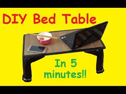 how to make a bed table diy how to make bed table youtube