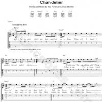 Download Chandelier By Sia Black Chandelier Tab Guitar Pro Thesecretconsul Com