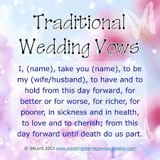 Wedding Quotes Unique Best 25 Traditional Marriage Vows Ideas On Pinterest
