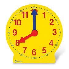time learning clock magnetic big time learning clock 13 learning resources