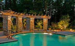 outdoor pool deck lighting charleston sc pool lighting