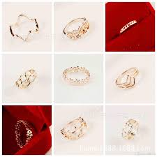 new jewelry rings images 2018 2017 new style fashion rings for women men cute couple jpg