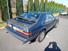 fox ford mustang for sale 1986 ford mustang svo for sale 1781343 hemmings motor