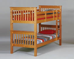 Solid Pine Bunk Beds Solid Wood Bunk With Ladder Size Honey Pine Solid Wood Bunk