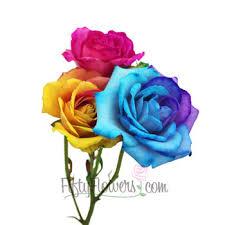 tie dye roses dye mini roses