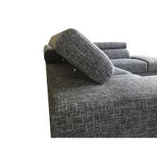 canapé d angle avec appui tête canapé d angle avec appuis tête beverly gris chiné