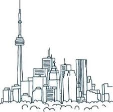 sketch of toronto skyline ink pinterest toronto sketches