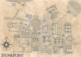 Paper Town Map A Town Map I Made For My D U0026d Game And Dyed With Tea Mapmaking