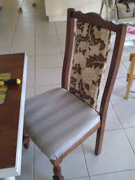 Cover Dining Room Chairs Reupholster Dining Room Chairs Before And After Chair Inspiration