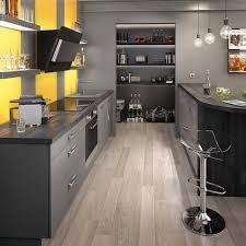cuisine peinte en gris cuisine jaune et gris cuisine jaune et gris marron bois orange