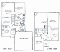 best 2 story house plans two story house plans for bedrooms best of 3 bedrooms floor plans