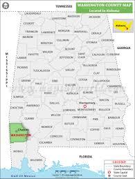Washington County Maps by Washington County Map Alabama