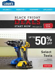 black friday power tools lowes black friday savings up to 50 off tools milled