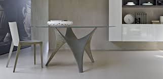 furniture stores dining tables modern round glass dining table molteni arc tables stylehomes