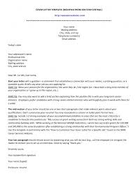 cover letter sent via email dont write a sucky letterhead format