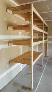 Build A Simple Wood Shelf Unit by Diy Corner Shelves For Garage Or Pole Barn Storage Diy Corner