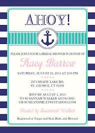 nautical bridal shower invitations bridal shower invitations bridal shower invitations nautical