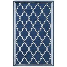 Navy And White Outdoor Rug 9 X 12 Blue Outdoor Rugs Rugs The Home Depot