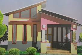 Small Home Design Tropical fortable Habitation Tiny House Roof