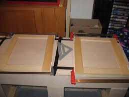 Glass Panel Kitchen Cabinets Diy Cabinet Doors With Glass How To Make Flat Panel Cabinet Doors