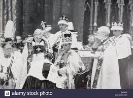 king george vi king george vi receives the homage of princes and peers following