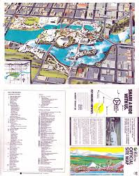 Map Of Spokane Expomuseum Expo U002774 Spokane Washington Usa