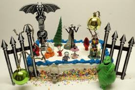 nightmare before christmas cake toppers nightmare before christmas 18 birthday cake topper set