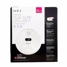 opi gl902 professional dual cure led light l gelcolor nail