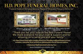 funeral homes nc h d pope funeral home home
